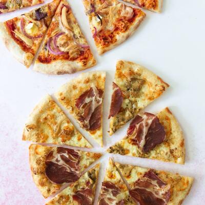 """Basilico Ltd Promo 2 x 12"""" Pizza"""