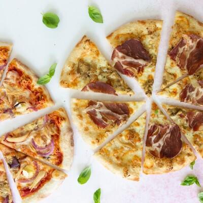 """Basilico Ltd Promo 2 x 10"""" Pizza"""