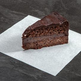 Pizza Time chocolate fudge cake
