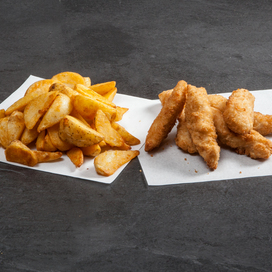 Pizza Time Chicken Dippers & Wedges Combo