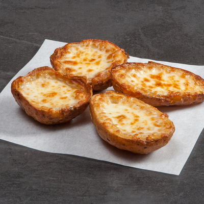 Pizza Time Potato Skins with Cheese