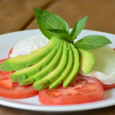 Basilico Ltd Tomato, Buffalo Mozzarella & Avocado Salad