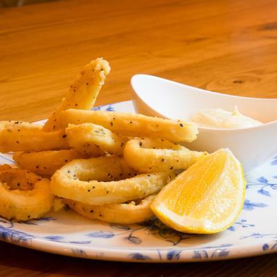 Berties Fish & Chips Salt and Pepper Squid