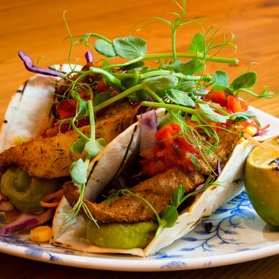 Berties Fish & Chips Fish Tacos