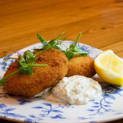 Berties Fish & Chips Salmon & Spring Onion Fishcake