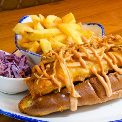 Berties Fish & Chips Bertie's Sea Dog