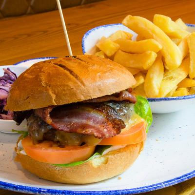 Berties Fish & Chips Bertie's Steak Burger