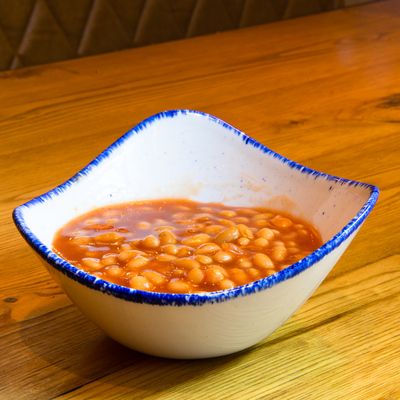 Berties Fish & Chips Baked Beans