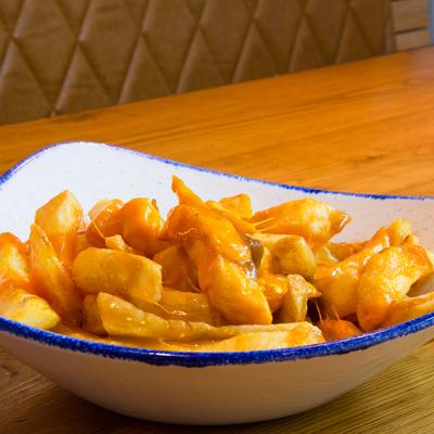 Berties Fish & Chips Chips with Bertie's Gravy & Cheese