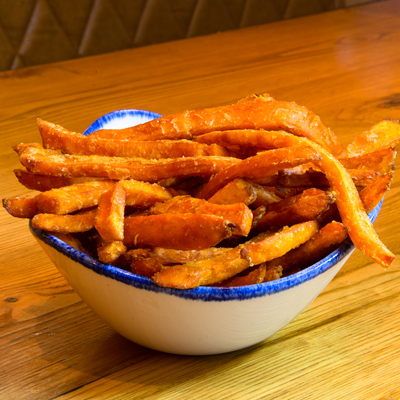 Berties Fish & Chips Sweet Potato Fries
