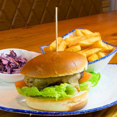 Berties Fish & Chips Bertie's Vegan Burger