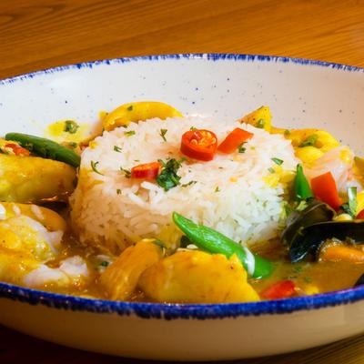 Berties Fish & Chips Bertie's Fish Curry
