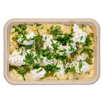 Basilico Ltd BURRATA AND PESTO MAC & CHEESE