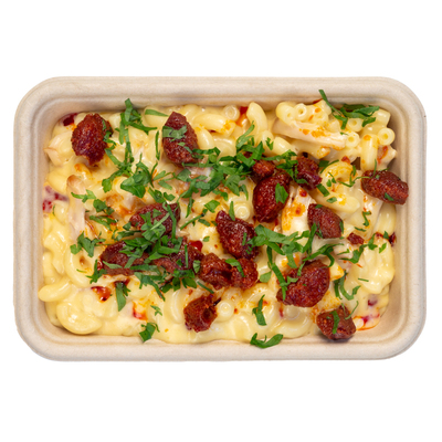 Basilico Ltd CHIKEN AND CHORIZO MAC & CHEESE